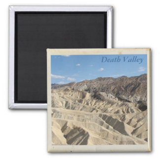 WoW, Death Valley Magnet! 2 Inch Square Magnet