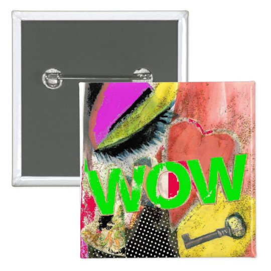 WOW DIGITAL ART PIN