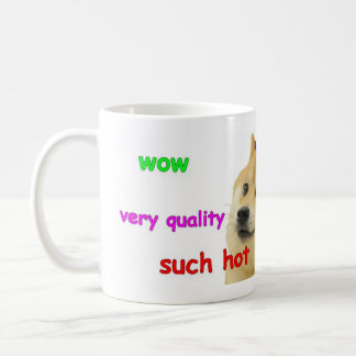 WOW, doge mug