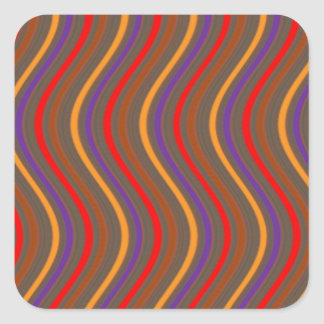 WOW Factor Waves: art NAVIN JOSHI lowprice GIFTS E Square Sticker