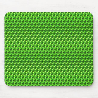 Wow Green Mouse Pad