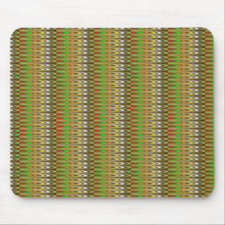 WOW Green Sparkle Wave pattern by NAVIN JOSHI gift Mouse Pad
