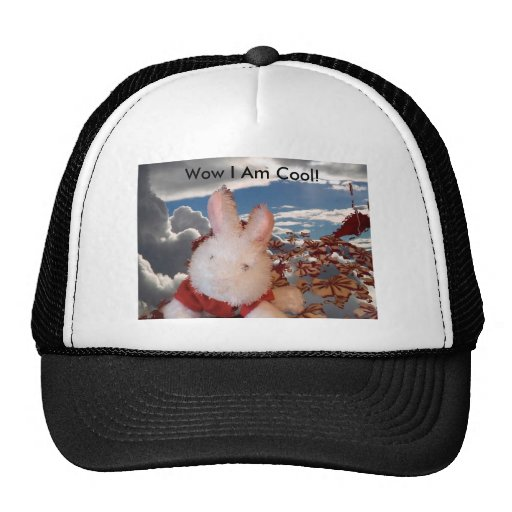 wow i am cool trucker hat zazzle