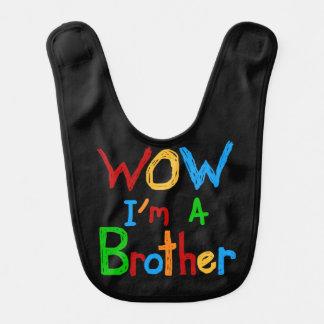 WOW I'm a Brother Bib