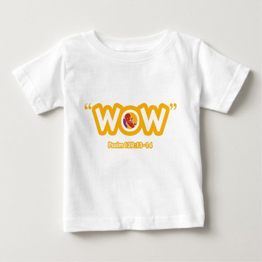 """WOW"" Infant T-shirt"