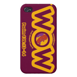 WOW iPhone case Cover For iPhone 4