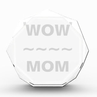 WOW MOM Customizable Octagonal Award