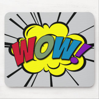 WOW! MOUSE PAD