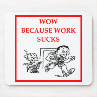 WOW MOUSE PAD