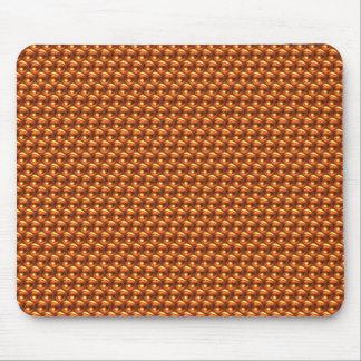 Wow Orange Mouse Pad