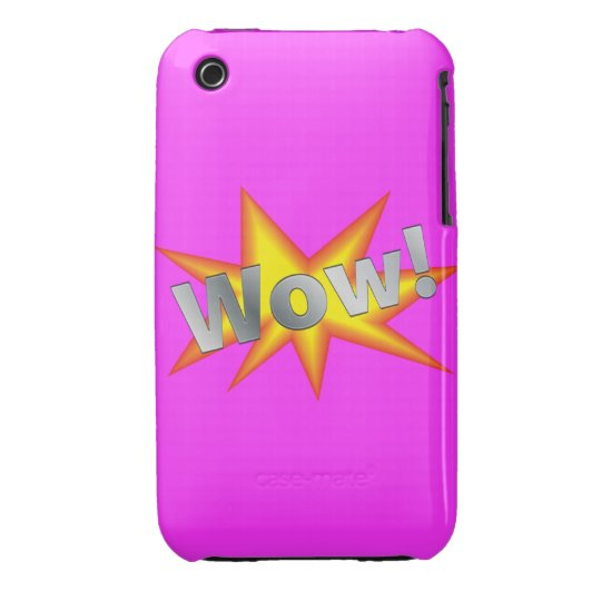 Wow, Pink Blackberry Curve Case-Mate Case