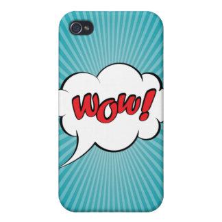Wow- Pop Art iPhone 4 Case