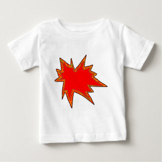 Wow Pop Pow Comic Art Super Heroes Word Bubble Baby T-Shirt