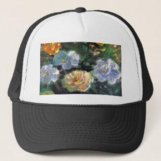WOW POW FLOWER ART TRUCKER HAT