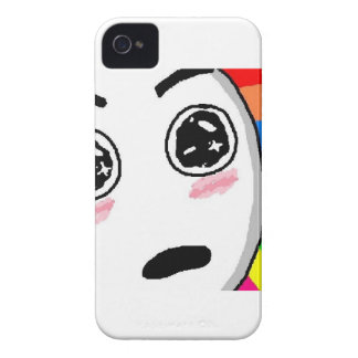Wow Rainbow Comic Face Blackberry Bold Covers