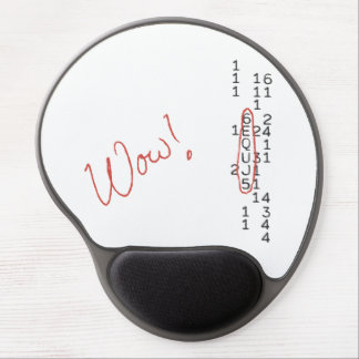 Wow Signal SETI Message Gel Mouse Pad