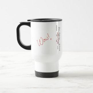 Wow Signal SETI Message Travel Mug