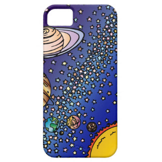 Wow! Solar System Space Planets Stars Sun iPhone SE/5/5s Case