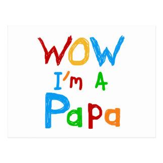 Wow soy camisetas y regalos de una papá postales