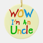 Wow soy un tío T-shirts y regalos Ornamento Para Reyes Magos