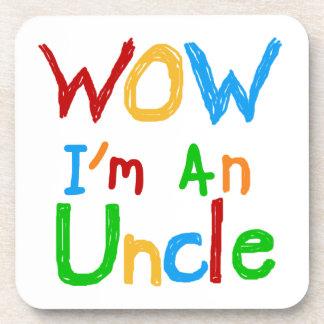 Wow soy un tío T-shirts y regalos Posavasos