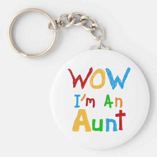 Wow soy una tía camisetas y regalos llavero