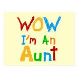 Wow soy una tía camisetas y regalos postales