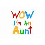 Wow soy una tía camisetas y regalos tarjetas postales