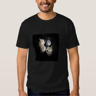 wow, such moon, amaze tee shirt