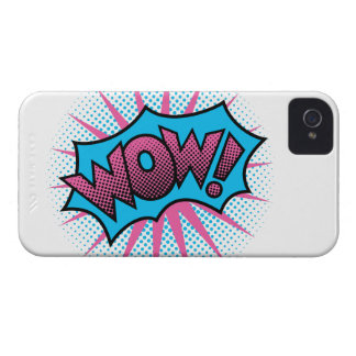 Wow Text Design Case-Mate iPhone 4 Case