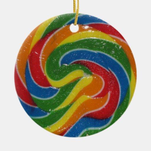 WOW. That's a Flippin Huge Lollipop Ornament