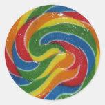 WOW. That's a Flippin Huge Lollipop Sticker