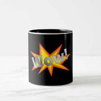 WOW! Two-Tone COFFEE MUG