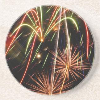 Wowee Fireworks Drink Coaster