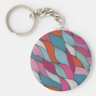 wowen colorfull pattern key chains