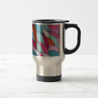 wowen el modelo del colorfull taza de viaje de acero inoxidable