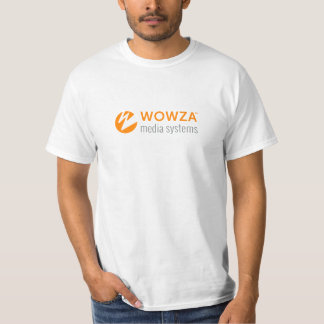 Wowza Media Systems Logo Shirt