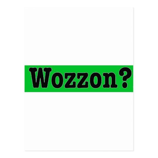Wozzon600dpi Tarjeta Postal
