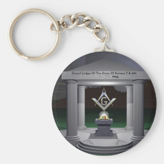 WP_3,  Grand Lodge Of The State Of Kansas F & A... Keychain