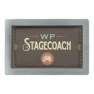 WP Stagecoach Belt Buckle