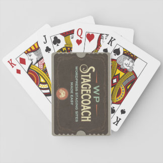 WP Stagecoach Playing Cards