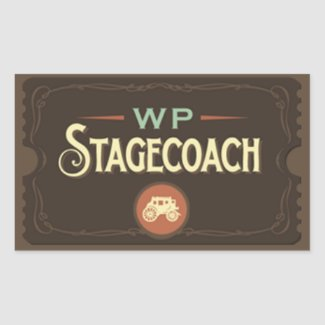 WP Stagecoach Stickers