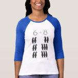 WPA 6 8 Penguins! T-Shirt