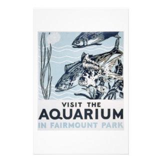 WPA - acuario Tarjetas Publicitarias