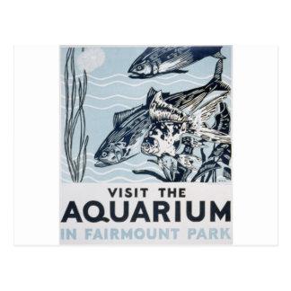 WPA - acuario Postales