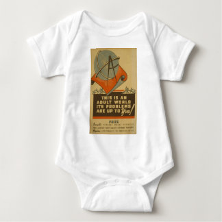 WPA - Adult World Baby Bodysuit