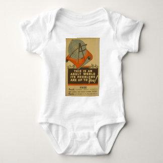 WPA - Adult World Baby Bodysuit