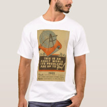 WPA - Adult World T-Shirt