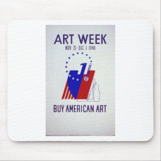 WPA - Art Mouse Pad