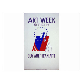 WPA - Art Postcard